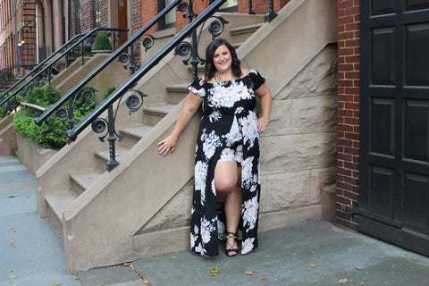 Plus Size Skirted Romper