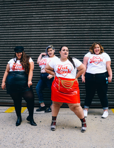 Four Fat Bitches Take NYFW - Fat Girl Flow, Ready to Stare, Margot Meanie & Nataliemeansnice