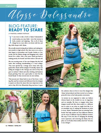 Best Moments 2017: FabUplus Plus Size Blogger Feature