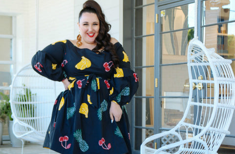 Plus Size Dress: Feeling Fruity in ELOQUII