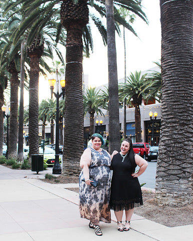 Plus Size Travel: Girl's Night Out in Anaheim