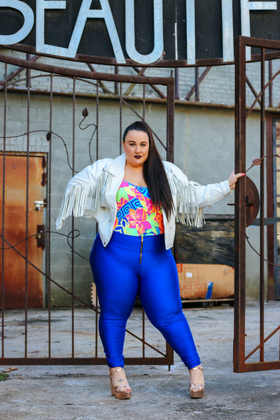 Ready to Stare Plus Size Fashion 90s Inspired