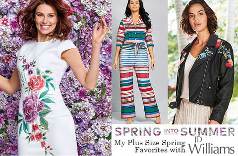 Plus Size Spring Fashion Trend Watch with JD Williams