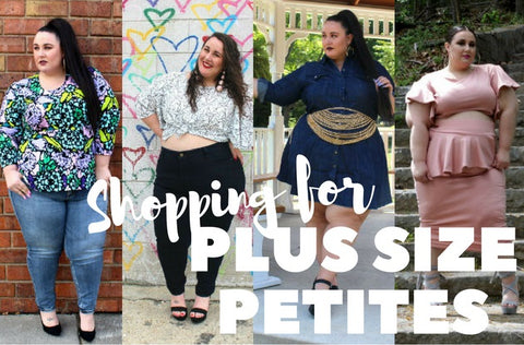 Shopping for Plus Size Petite Jeans and Clothing Online