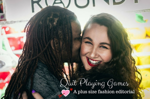 Quit Playing Games: A Plus Size Fashion Editorial