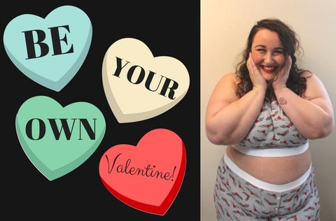Be Your Own Valentine with Plus Size Underthings from TomboyX