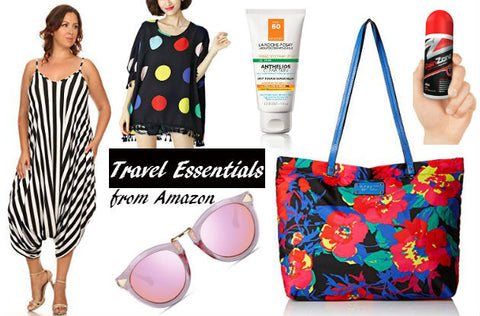 Plus Size Travel Essentials from Amazon