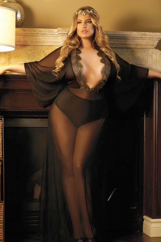 extravagant plus size lingerie for valentine's day – ready to stare