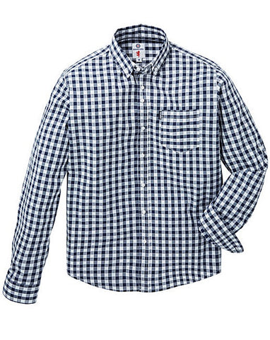 Men's Big and Tall Spring Fashion Trends with Jacomo - Gingham Button-Down
