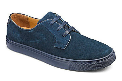 Men's Big and Tall Spring Fashion Trends with Jacomo - Suede Lace Up Shoes