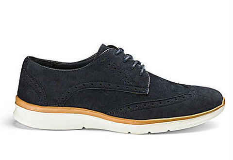 Men's Big and Tall Spring Fashion Trends with Jacomo - Brogue Trainers