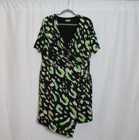 CLOSET SALE: Simply Be Faux Wrap Dress- Size 20