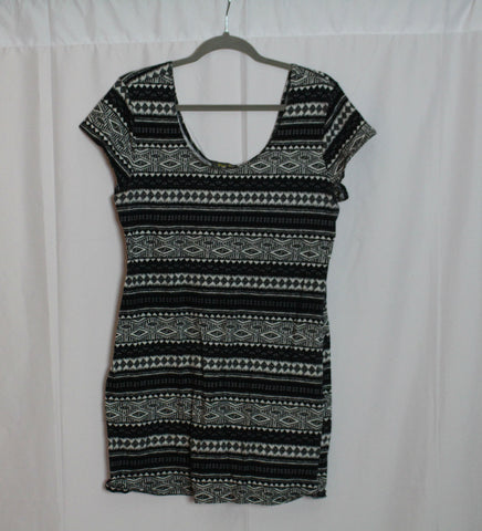 CLOSET SALE: Printed Bodycon Dress-2X