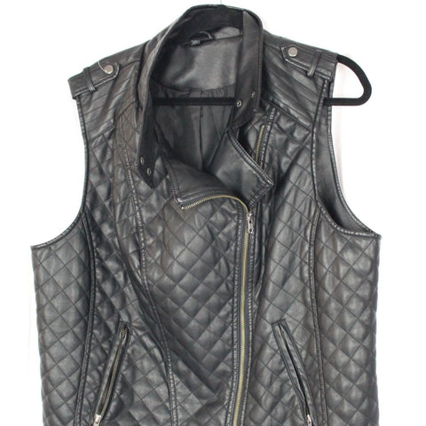 CLOSET SALE: Leather Vest - Size 1X