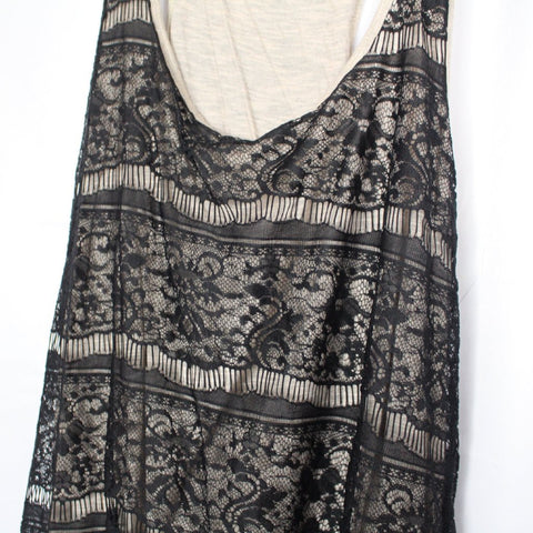 CLOSET SALE: Lace Oversized Tank -XL
