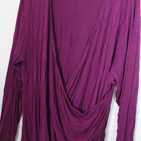 CLOSET SALE: Draped Front Top - Size 22/24