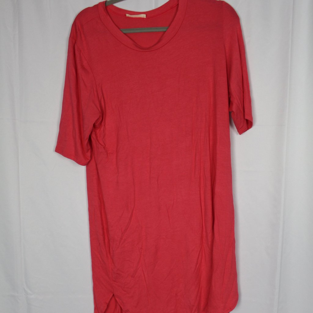 CLOSET SALE: Red T-Shirt Dress
