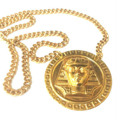 Gold Pharaoh Necklace