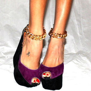 Gold Chain Anklets