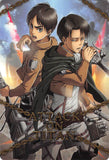 Attack on Titan Trading Card - Wafer Angriff.1 Special Card 22: Attack on Titan (FOIL) (Levi x Eren) - Cherden's Doujinshi Shop - 1