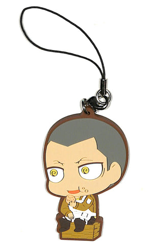 Attack on Titan Strap - Ichiban Kuji Attack on Titan Fly! Survey Corps!! H Prize: Connie Springer Chimi Chara Rubber Strap 1 (Connie Springer) - Cherden's Doujinshi Shop - 1