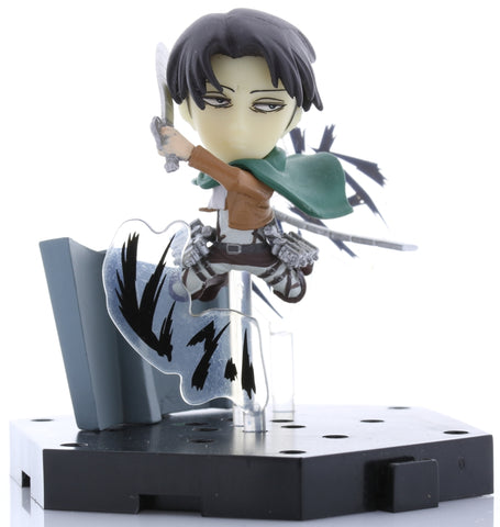 Attack on Titan Figurine - Ichiban Kuji Shingeki no Kyojin Kuji Rescue Mission H Prize Collect Play Figure: Levi Ackerman (Levi Ackerman) - Cherden's Doujinshi Shop - 1