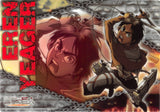 Attack on Titan Clear Plate - Jumbo Carddass Visual Art Bromide 4 Type 1: Eren Yeager (Eren) - Cherden's Doujinshi Shop - 1