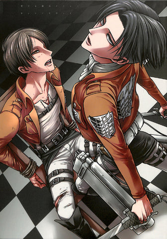 Attack on Titan Doujinshi - Play the Medley I Crave (Eren x Levi) - Cherden's Doujinshi Shop - 1