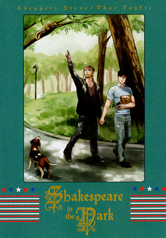Avengers Doujinshi - Shakespeare in the Park (Steve x Thor) - Cherden's Doujinshi Shop - 1