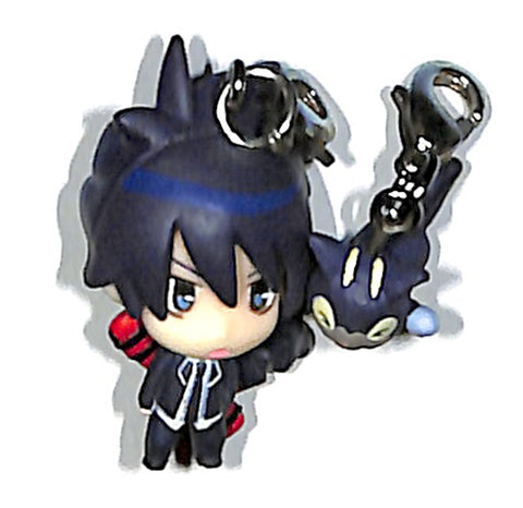 Blue Exorcist Charm - Chara Fortune I Wanna Be An Exorcist! Edition Rin Okumura and Kuro (Rin Okumura) - Cherden's Doujinshi Shop - 1