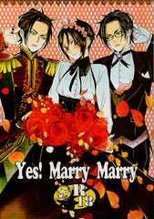 Black Butler Doujinshi - Yes!  Marry Marry (Claude x Sebastian) - Cherden's Doujinshi Shop - 1