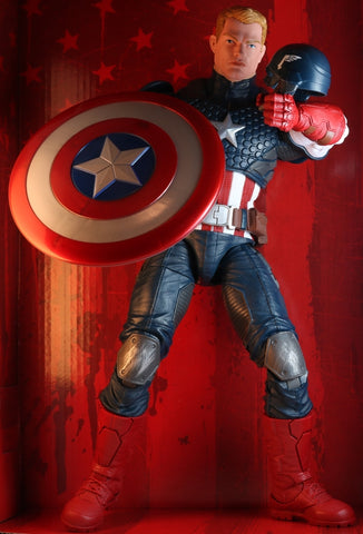 Captain America Figurine - Hasbro B7433 Marvel Legends Series: Captain America (Captain America) - Cherden's Doujinshi Shop - 1