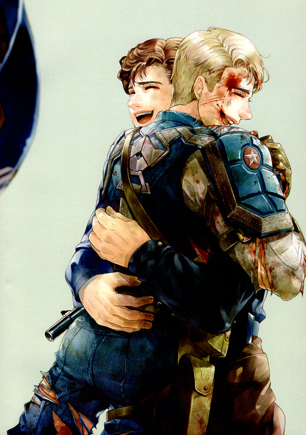Captain America Doujinshi - Just the Way You Are (Bucky x Steve) - Cherden's Doujinshi Shop - 1