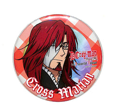 D.Gray-man Pin - D.Gray-man HALLOW in J-WORLD TOKYO Can Badge Collection: Cross Marian (Cross Marian) - Cherden's Doujinshi Shop - 1