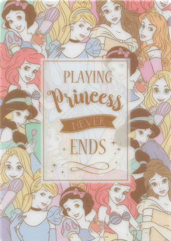 Disney Pencil Board - sun-star B5 Shitajiki: Playing Princess Never Ends (Cinderella) - Cherden's Doujinshi Shop - 1