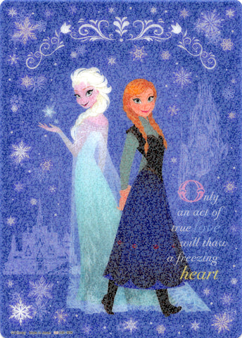 Disney Pencil Board - sun-star Frozen B5 Shitajiki: Only an act of true love will thaw a freezing heart (Queen Elsa of Arendelle) - Cherden's Doujinshi Shop - 1