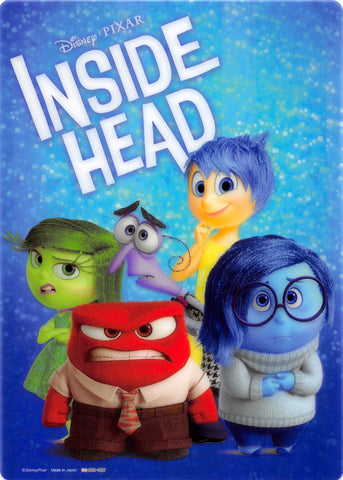 Disney Pencil Board - sun-star Inside Out B5 Shitajiki: Inside Head - Sadness Anger Disgust Joy and Fear (Sadness) - Cherden's Doujinshi Shop - 1