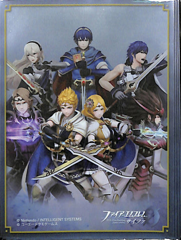 Fire Emblem 0 (Cipher) Trading Card Sleeve - B11 Box Promo Sleeves Warriors (Chrom) - Cherden's Doujinshi Shop - 1