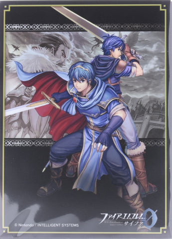 Fire Emblem 0 (Cipher) Trading Card Sleeve - B14 Box Promo Sleeves Marth Avatar & Hardin (Marth) - Cherden's Doujinshi Shop - 1