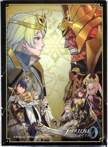 Fire Emblem 0 (Cipher) Trading Card Sleeve - B13 Box Promo Cast Set of 5 Trading Card Sleeves (Fjorm) - Cherden's Doujinshi Shop - 1