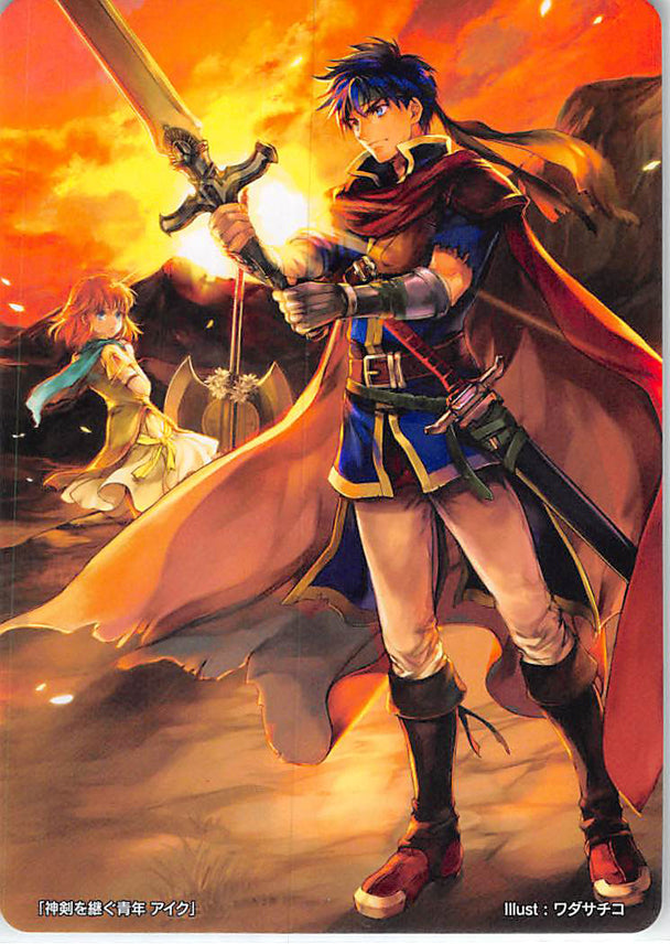 Fire Emblem 0 (Cipher) Trading Card - Marker Card: Ike Young Inheritor of the Sacred Blade - 6/2020 Prize Fire Emblem (0) Cipher (Ike (Fire Emblem)) - Cherden's Doujinshi Shop - 1