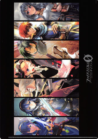 Fire Emblem 0 (Cipher) Clear File - Let's Travel Together! Limited Edition Present Campaign Clear File: Black (Marth) - Cherden's Doujinshi Shop - 1