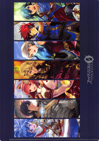 Fire Emblem 0 (Cipher) Clear File - Let's Travel Together! Limited Edition Present Campaign Clear File: Blue (Caeda) - Cherden's Doujinshi Shop - 1
