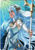 Fire Emblem 0 (Cipher) Trading Card - Marker Card: Azura Fountain Songstress - CM91 Player's Box Character Set Card (Azura) - Cherden's Doujinshi Shop - 1