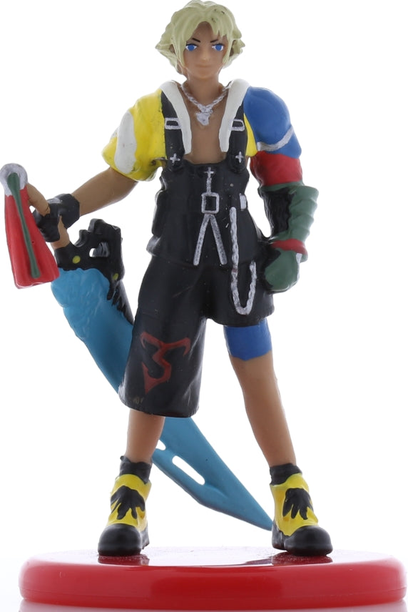 Final Fantasy 10 Figurine - Coca Cola Special Figure Collection Volume 3: Tidus Realistic Color Version (Tidus) - Cherden's Doujinshi Shop - 1