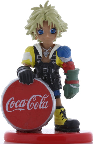 Final Fantasy 10 Figurine - Coca Cola Special Figure Collection Volume 3: Tidus Deformed (Chibi) Color Version (Tidus) - Cherden's Doujinshi Shop - 1