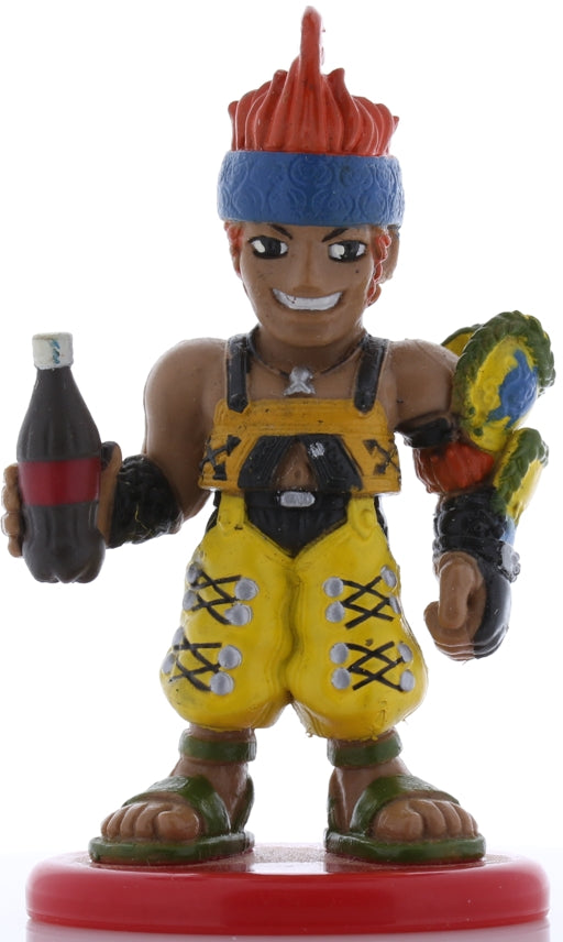 Final Fantasy 10 Figurine - Coca Cola Special Figure Collection Volume 3: Wakka Deformed (Chibi) Color Version (Wakka) - Cherden's Doujinshi Shop - 1