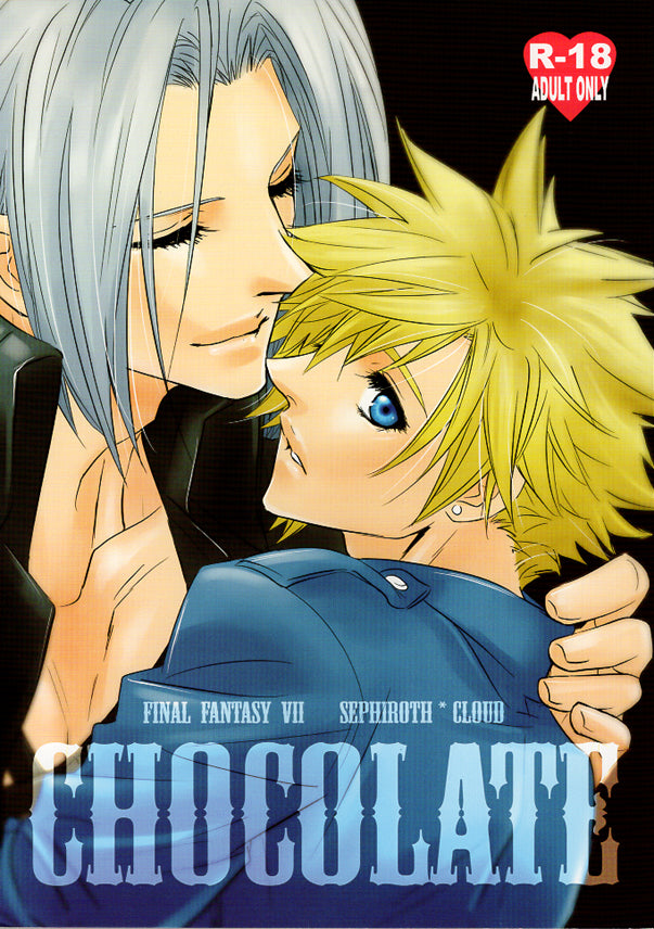 Final Fantasy 7 Doujinshi - Chocolate (Sephiroth x Cloud) - Cherden's Doujinshi Shop - 1