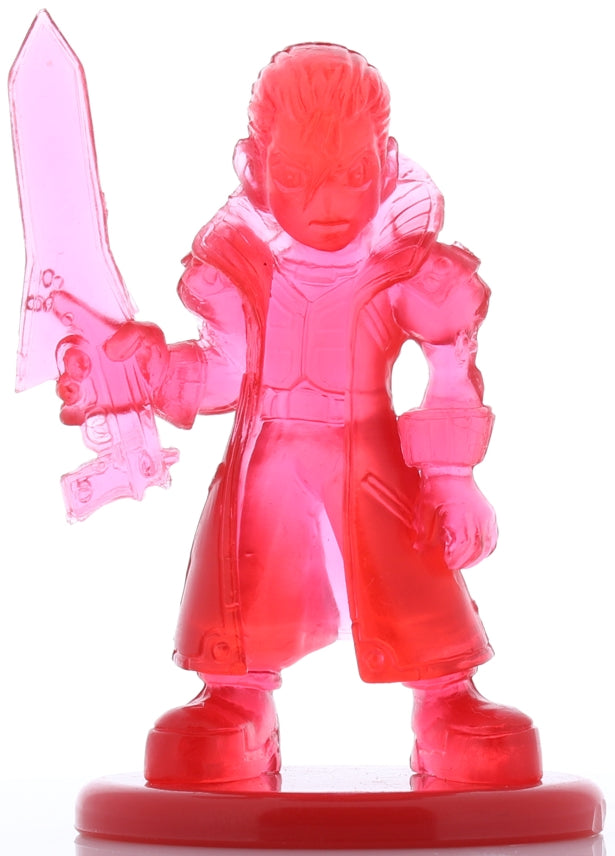 Final Fantasy 8 Figurine - Coca Cola Special Figure Collection Volume 1: Seifer Deformed (Chibi) Red Crystal Version (Seifer) - Cherden's Doujinshi Shop - 1