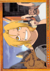 Fullmetal Alchemist Trading Card - Carddass Masters Part 2: 70 Story Card: Episode 26 Her Reason (Edward Elric) - Cherden's Doujinshi Shop - 1